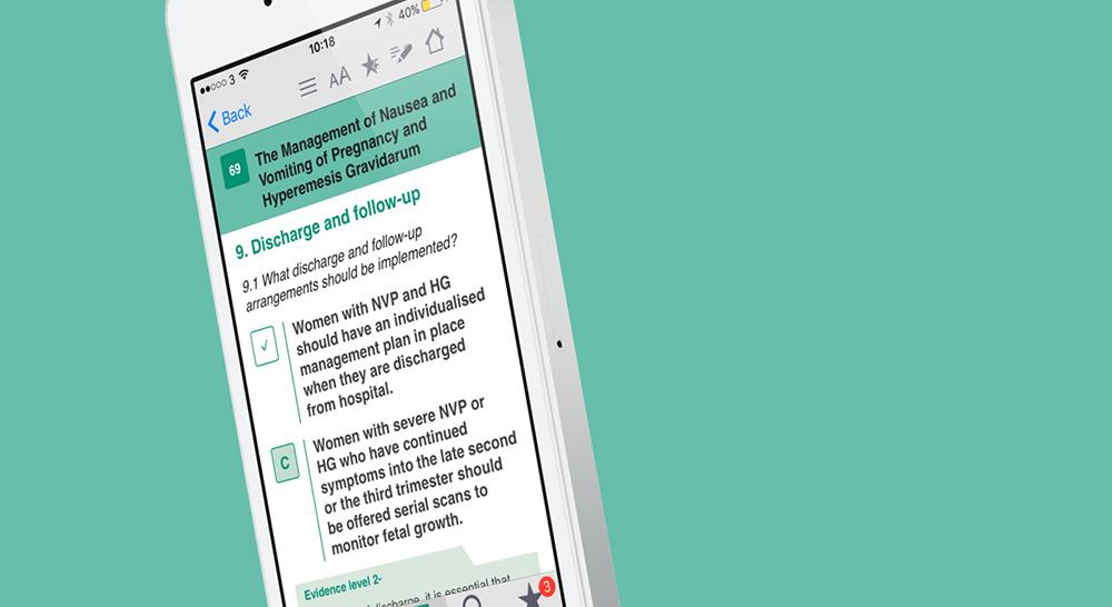 Green-top Guidelines App